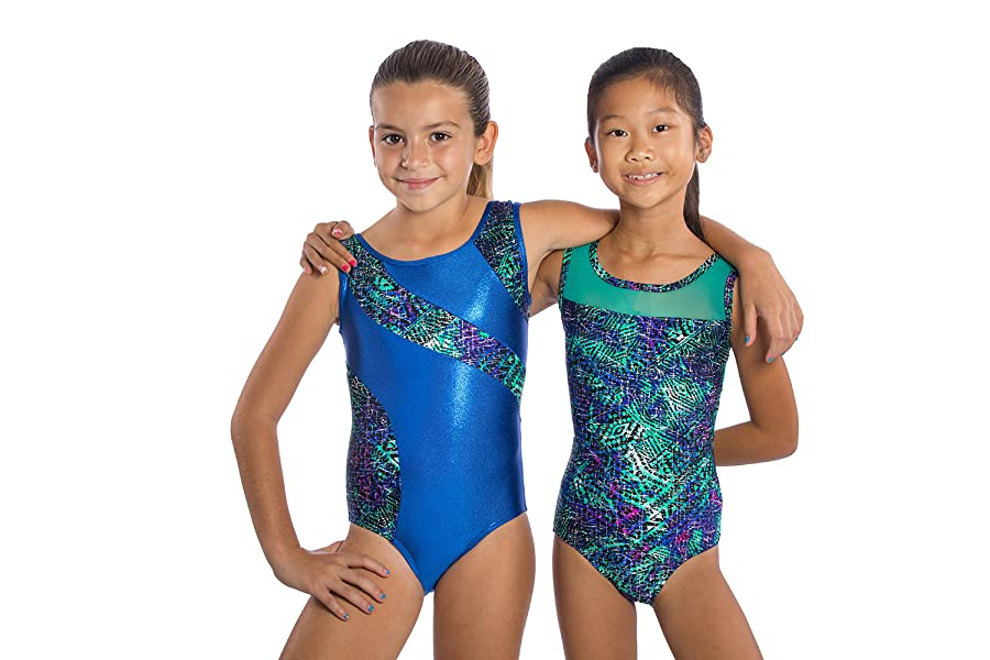 e0cea53c7 Amazon.com  Girls Gymnastics Leotard Aztec Fabric  by Lizatards ...