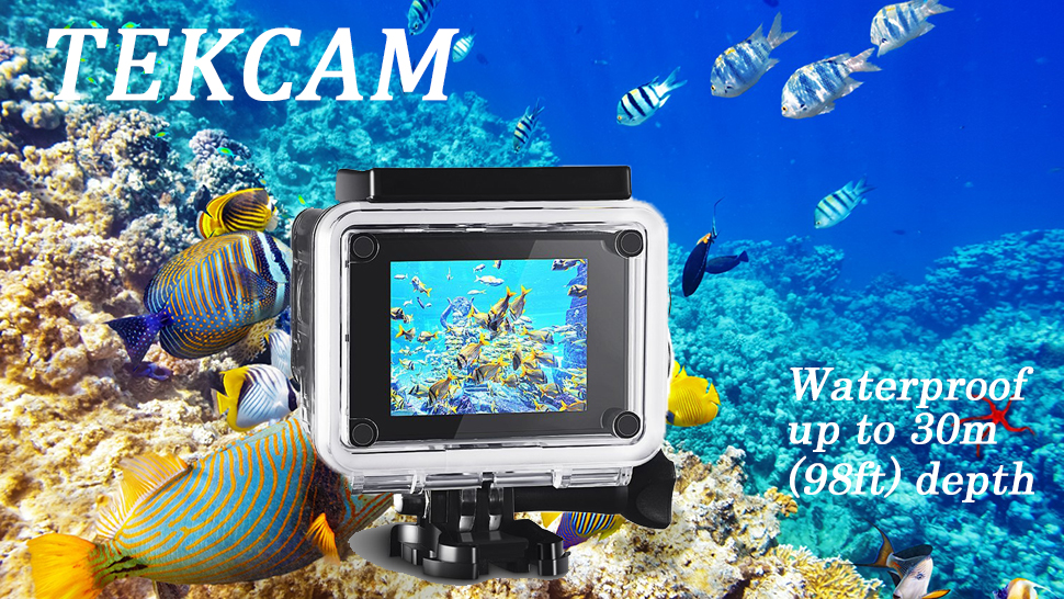 Amazon.com: tekcam Professional Funda impermeable para ...