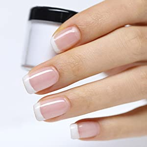 Dipping Powder Acrylic Nail Powder Without Lamp Cure Natural Dry Nail Glitter Long Lasting Fruity