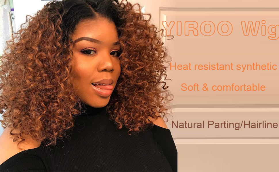 Amazon.com: YIROO - Peluca sintética de color marrón oscuro ...