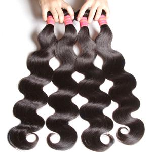 4 bundles of hair