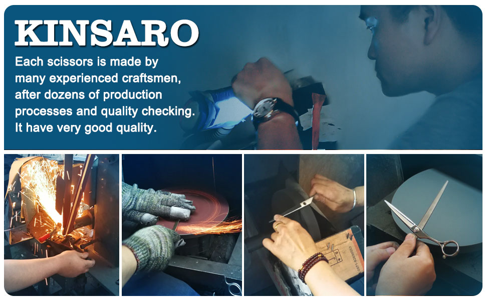 Scissors manufacture and checking intro
