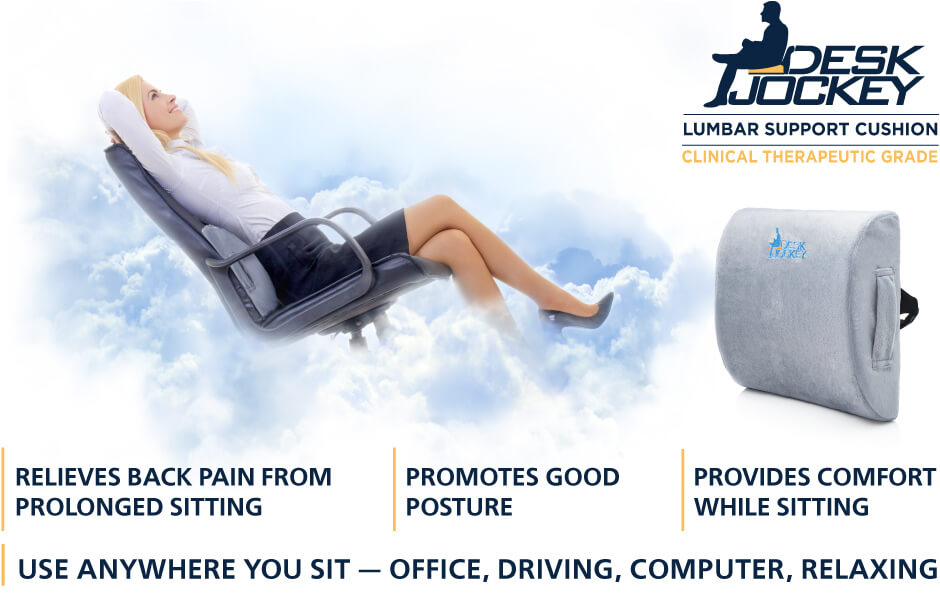 Our revolutionary LUMBAR SUPPORT SYSTEM introduces a sneaky simple way to promote good posture while simultaneously relieving back pain while sitting.  sc 1 st  Amazon.com & Amazon.com: Lower Back Pain Lumbar Support Cushion - Clinical ... islam-shia.org