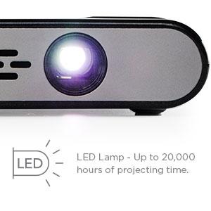Miroir micro projector m45 element series for Miroir projector 360