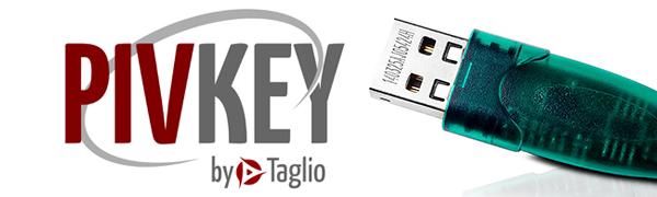 PIVKey T600 PKI USB Smart Card Token