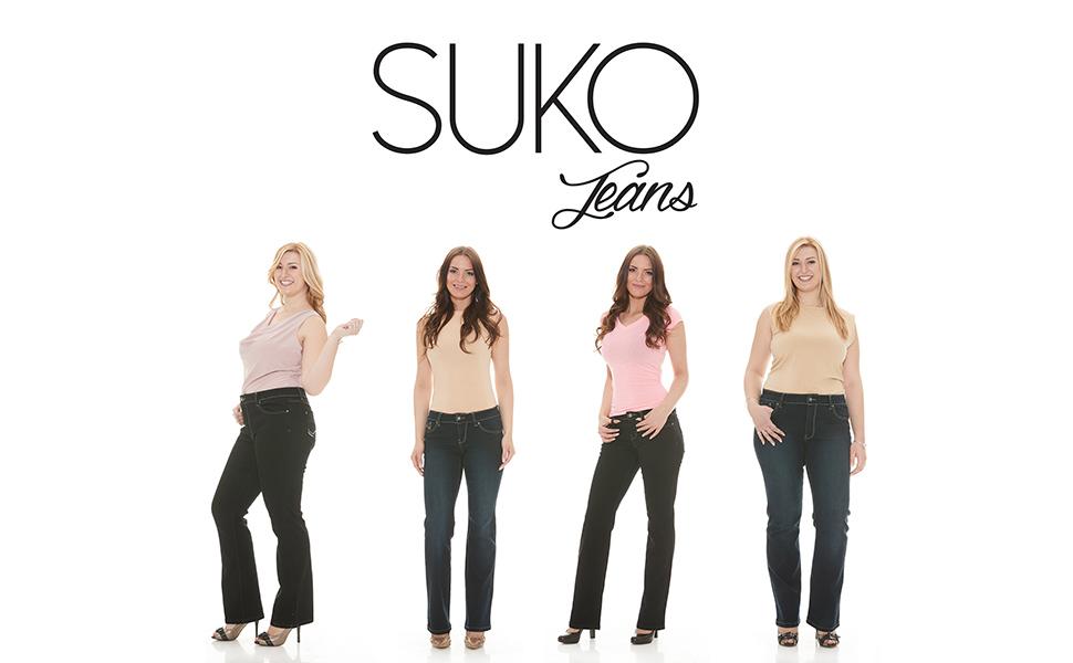 864936e3135 Suko Jeans Women s Boot Cut Stretch Denim - Mid Rise Pants at Amazon ...