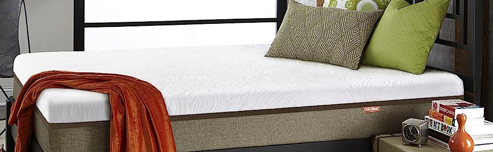 Amazon.com: Live and Sleep Resort Ultra Colchón de espuma ...