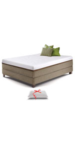 Luxury 12 inch gel memory foam mattress ...