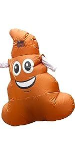 Amazon.com: BestParty Fancy Disfraz de Halloween inflable ...