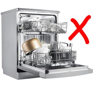 Not dishwasher safe