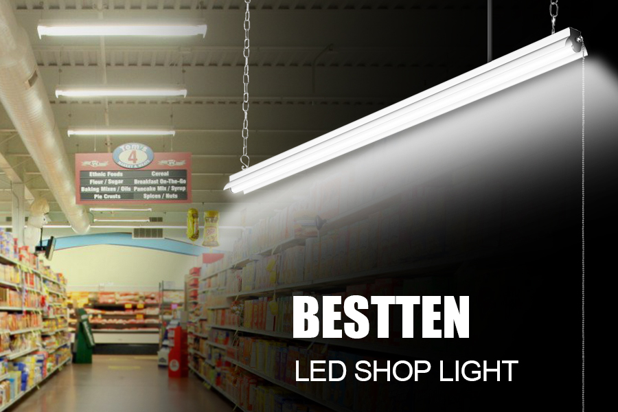 2 Pack] BESTTEN High Output 5000 Lumen 4000K (Bright White Color ...
