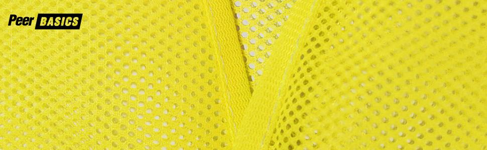 mesh yellow neon