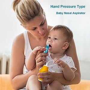 Nasal Aspirator IFCASE Manual Negative Pressure Ball Snot Sucker for Newborn Baby Relieve Nose Stuffy Mucus Blocked Toddler