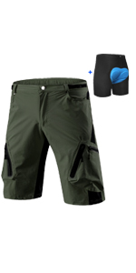 mens lightweight cargo shorts mens padded biking shorts