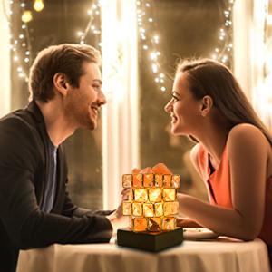 Romantic Salt Lamps Night Light
