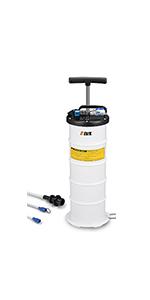 LIGO Portable Manual Oil Extractor Pump Light Weight Vacuum Fluid Evacuator Oil Drain Pump 4L