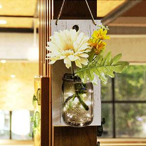 mason jar sconces wall décor