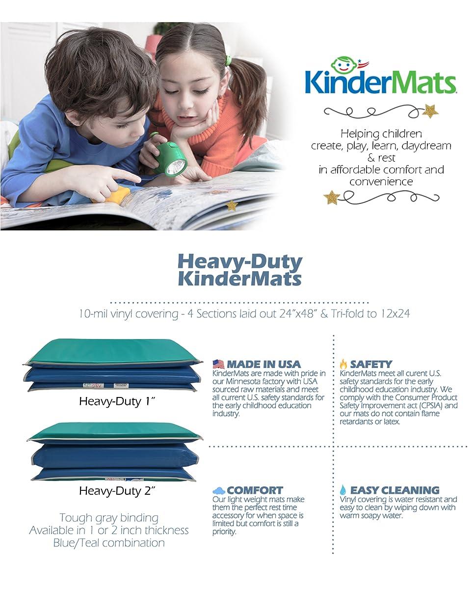 Amazon Com Peerless Plastics Heavy Duty Kindermat Blue
