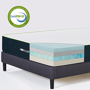 Amazon.com: Acesleep - Colchón de espuma viscoelástica ...