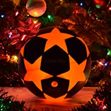 GlowCity LLC  Light Up Special Edition Star Soccer Perfect Present