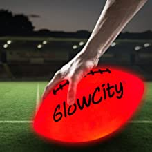 GlowCity LLC Light Up LED Football