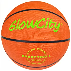 GlowCity LLC Light Up LED Basketball Official Size 6