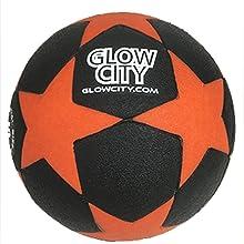 GlowCity LLC Star Edition soccer ball Light Up & Limited