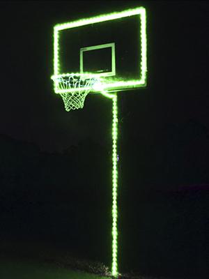 Universal Lighting for your Basketball Hoop