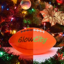 GlowCity LLC LED Light Up Football Prefect Present