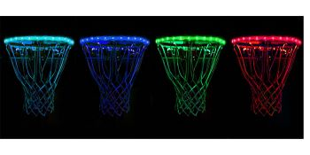 Rim Kit Multi Color Light up Basketball GlowCity Glow in the dark