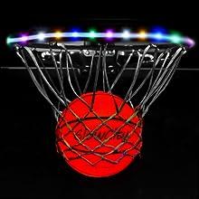Multi Color Rim Kit GlowCity Glow in the dark Basketball