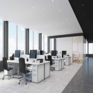 office using cfl bulbs