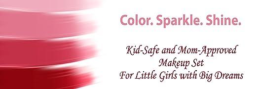 Amazon.com: Set de maquillaje lavable para niños con ...