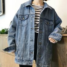 9109d950988a Gihuo Women s Oversized Loose Boyfriend Denim Jacket Hooded Jean ...