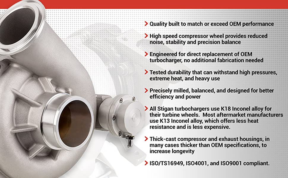 Stigan Turbos - Engineering High Quality Turbochargers That Perform And Last