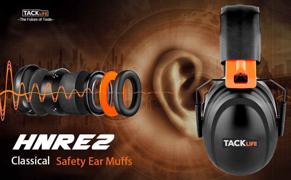 Tacklife Professinal Safety Ear Muffs, Take You into a Peaceful and Perfect World