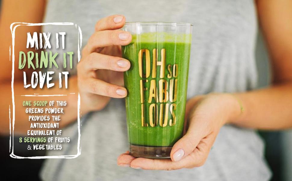 Mix it. Drink it. Love it.