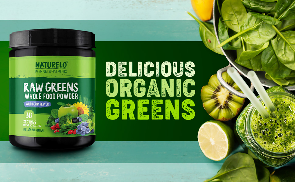 Delicious Organic Greens