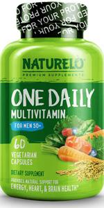 NATURELO One Daily Multivitamin for Men 50+