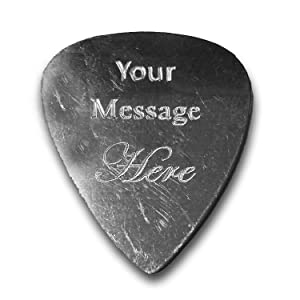 guitar, pick, music, electric, acoustic, instrument, fun, hobby, love note, special, custom, gift