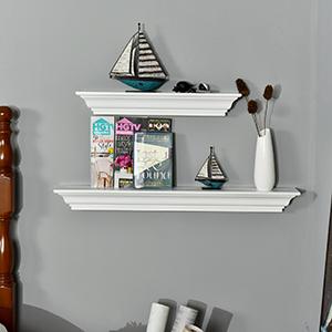 Jefferson Crown Molding Floating Shelf