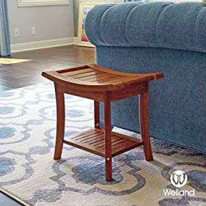 Natural, Environmental Friendly And Healthy Teak Bathroom Stools Add  Natural And Original Beauty To Your Home.