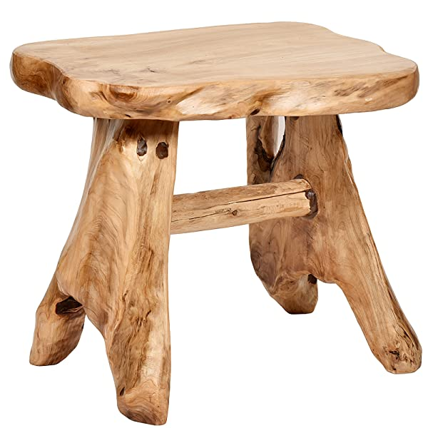 Delightful WELLAND Cedar Bench/Stool Add A Natural Accent To Your Garden, Patio, Deck  Or Any Indoor Room    Every Stool Is Different As They Are Each Carved By  Skilled ...