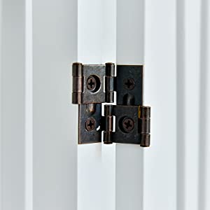 white dog gate hinges
