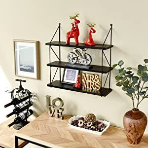 3-tier wall rack Shelf