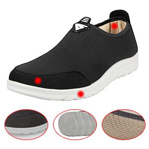 iLoveSIA Men's Loafer shoes detail