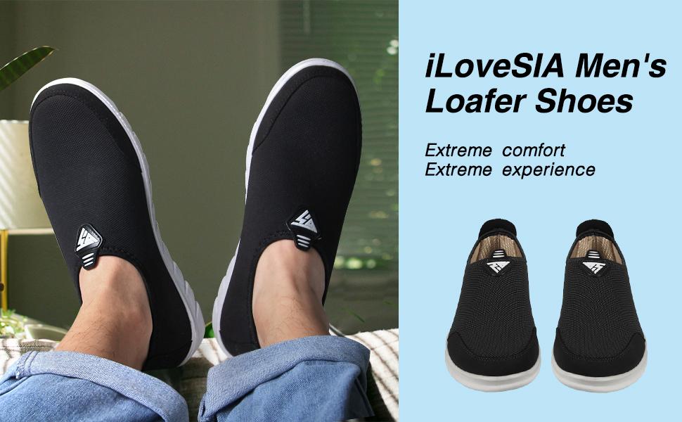 iLoveSIA Men's Loafer Shoes