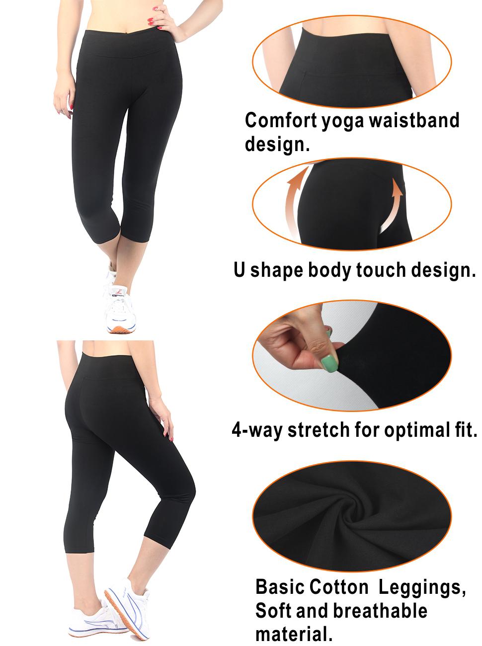 Athletic Yoga Leggings from DiaNoche Designs by Yasmin Dadabhoy Botanical 1
