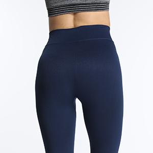 Women's Daily Leisure Leggings 4-way strecth High-waist pants small logo
