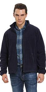 iLoveSIA mens fleece jacket blue